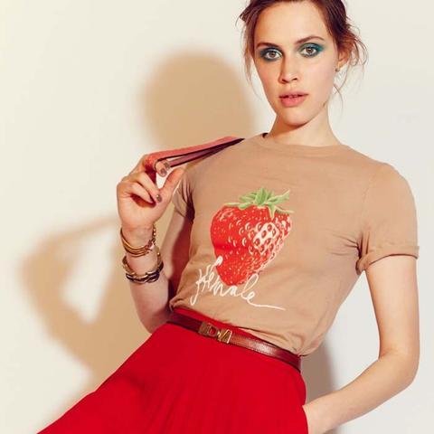 Strawberry Female T-Shirt