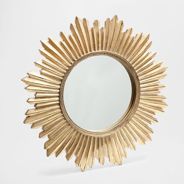 Zara Home Resin Sun Mirror