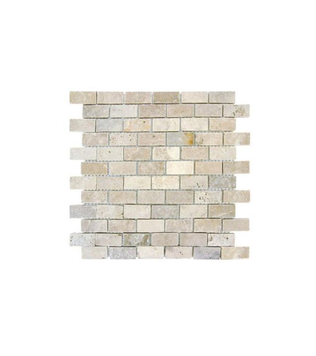 MS International Chiaro Brick Mesh-Mounted Mosaic Tile