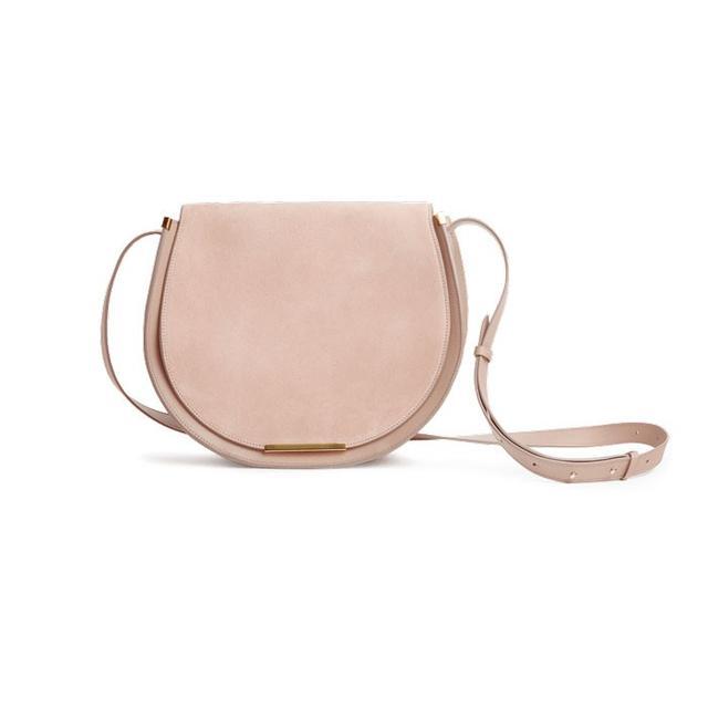 Cuyana Saddle Bag in Quartz