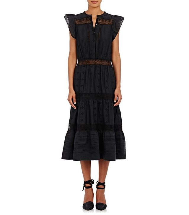 Ulla Johnson Tatyana Tiered Midi-Dress