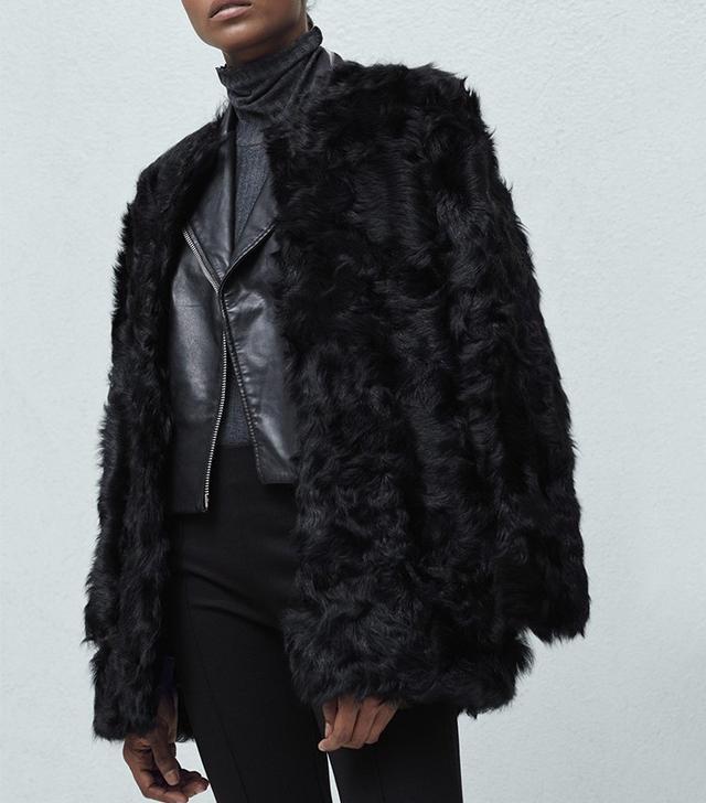 Mango Fur Coat