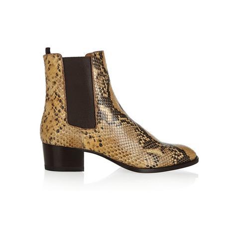 Blake Python-Effect Boots
