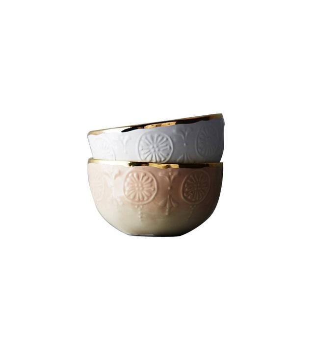 Anthropologie Tearoom Nut Bowl