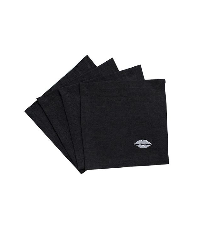 Kelly Wearster Kiss Cocktail Napkin