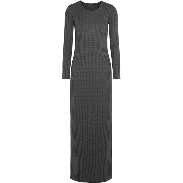 Wes Gordon Striped Knit Dress