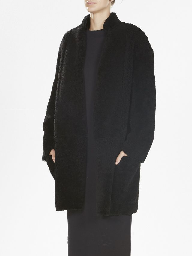 Bassike Shearling Coat