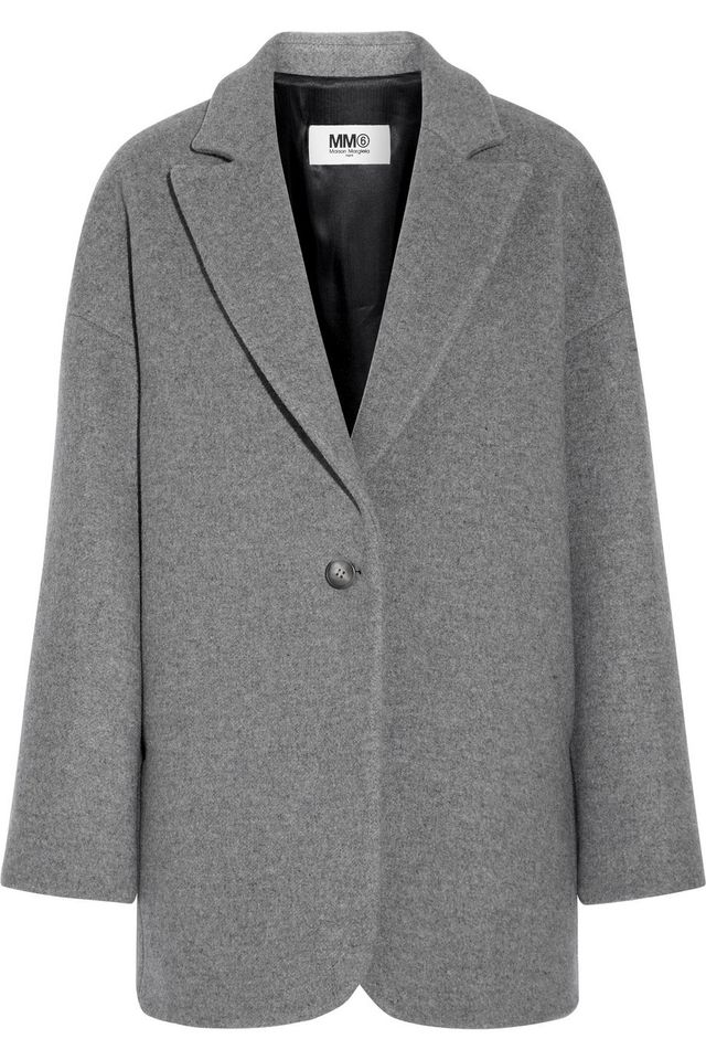 MM6 Maison Margiela Wool Felt Coat