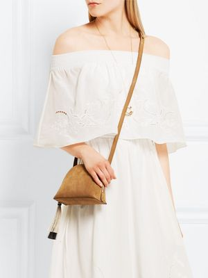 Love, Want, Need: The Perfect Tan Suede Summer Bag