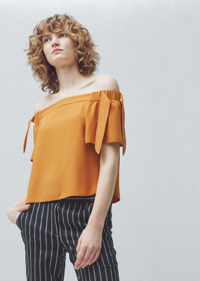 Mango Off Shoulder Top