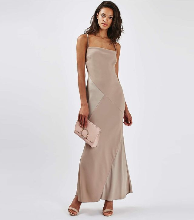 Topshop Cross Strap Maxi Dress