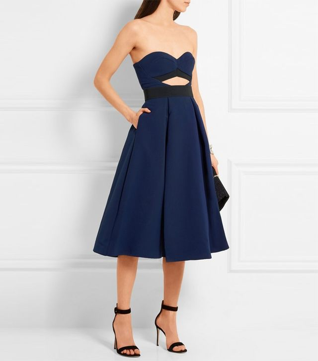 Self-Portrait Lulu Cutout Ponte Dress