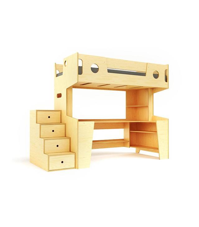 Casa Kids Marino Loft Bed With Stairs