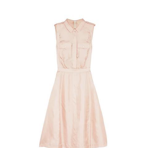 Silk-Satin Twill Dress