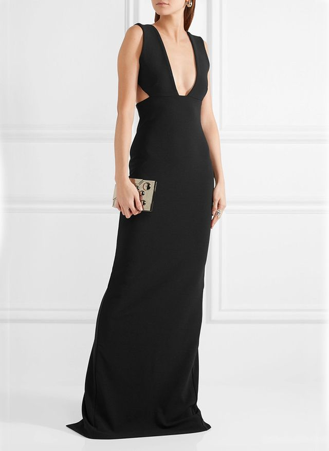 best black gown