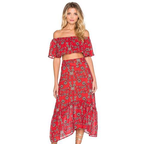 Pia Midi Skirt