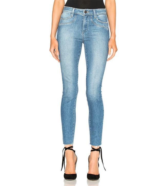 Paige Denim Hoxton Unfinished Edge Jeans