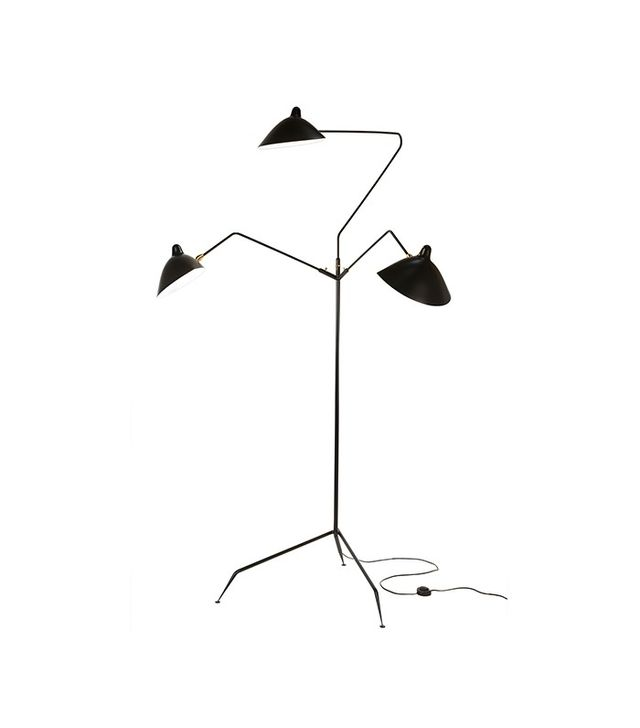 France & Son Three-Arm MFL-3 Standing Floor Lamp