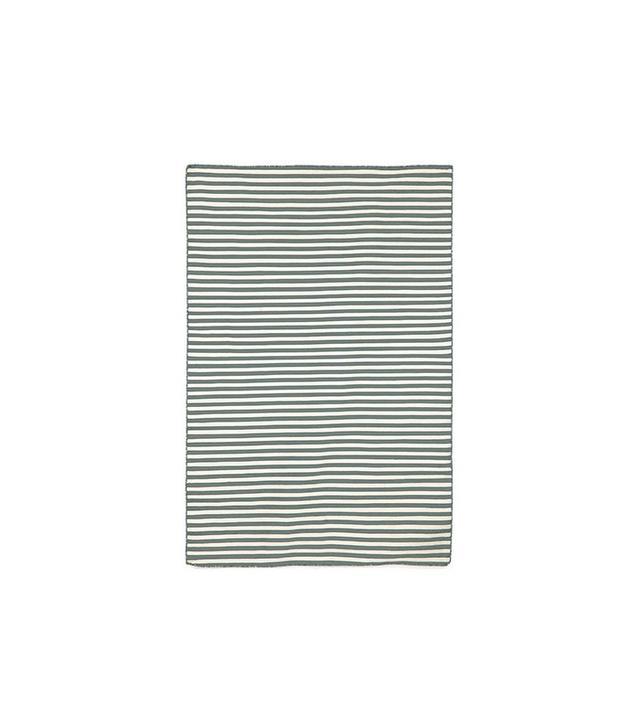 Liora Manné Petite Stripe Grey Outdoor Rug