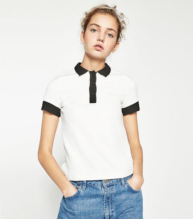 Zara Polo Neck Top