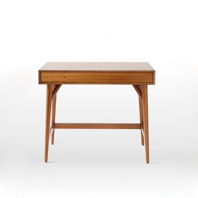 West Elm Mid-Century Mini Desk in Acorn