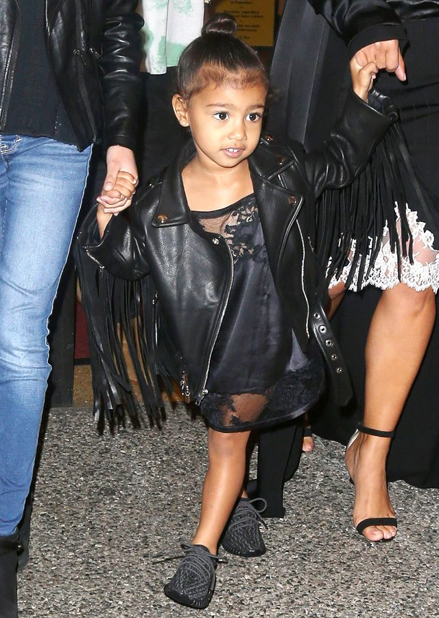 When she wore a fringed leather jacket like a boss