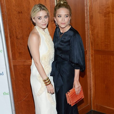 Olsen Twin Style: Jewellery should look like it's from a thrift store (in a good way).