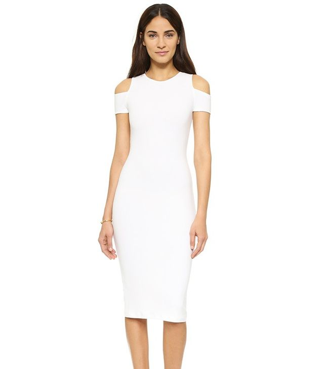 Alice + Olivia AIR Meya Cold Shoulder Dress