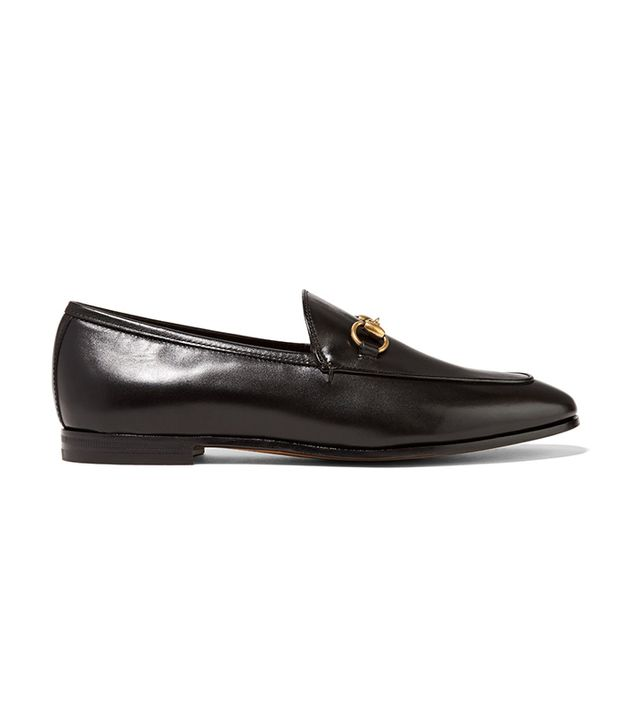 dc fashion - Gucci Horsebit-detailed leather loafers