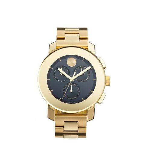 Bold Chrono Bracelet Watch