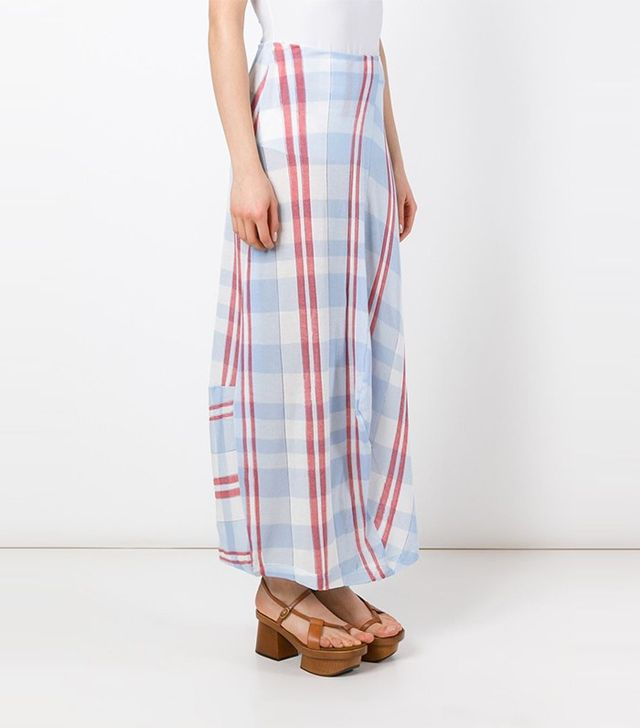 Stella McCartney Checked Skirt