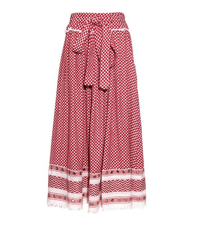 Dodo Bar Or Bashira Eyelet-Embellished Cotton Skirt