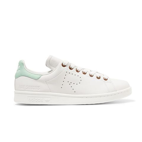 + Raf Simons Stan Smith Perforated Leather Sneakers