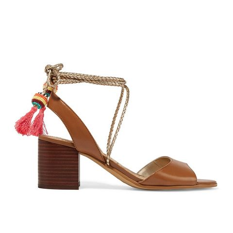 Shani Tasseled Leather Sandals