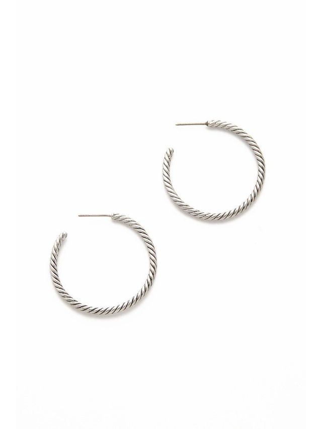 Marc Jacobs Rope Hoop Earrings
