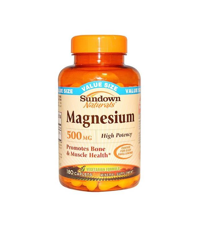 Sundown Naturals Magnesium Supplement