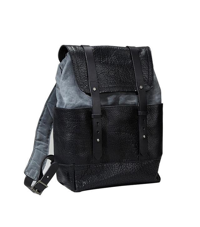Coronado Leather Bison Redwood Backpack
