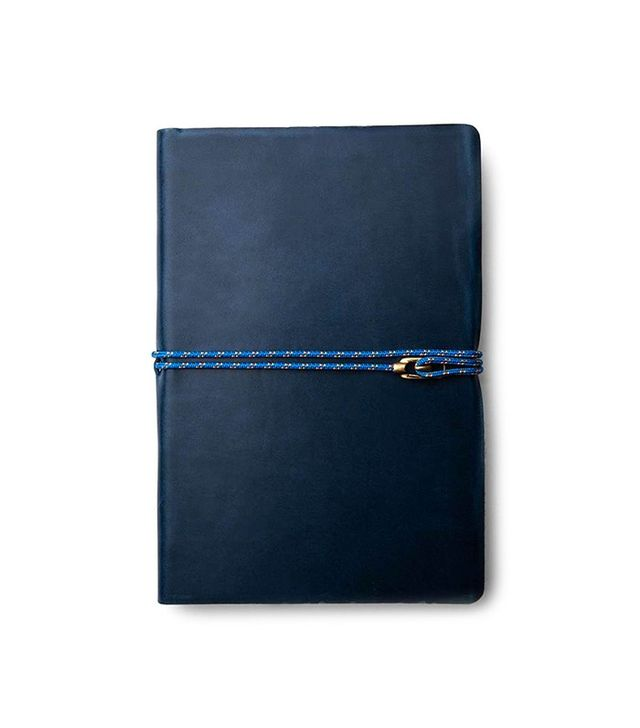 Miansai Italian Leather Journal with Brass Closure