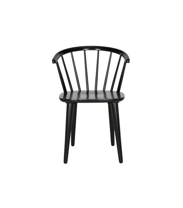 One Kings Lane Black Kathryn Side Chairs