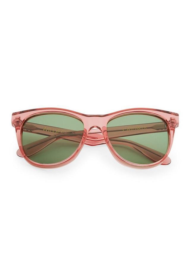 Wildfox Catfarer Round Sunglasses