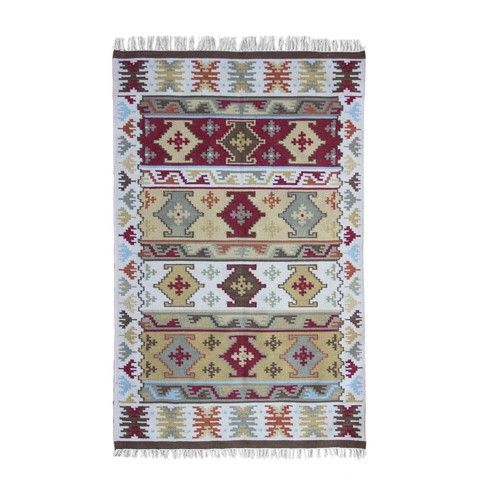 Temple & Webster Benaras Kilim Rug