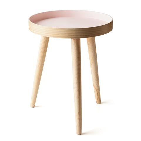 Kmart Stockholm Lip Side Table - Pink