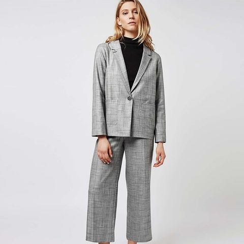Checked Tonic Suit Blazer and Trousers