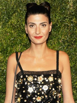 Our Jaws Dropped When We Saw Giovanna Battaglia's Wedding Dress