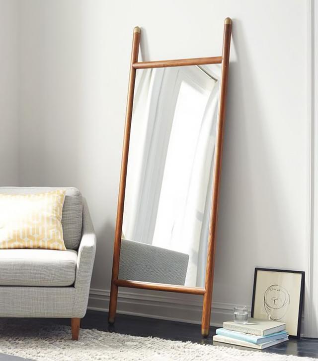 West Elm Mid-Century Dowel Mirror