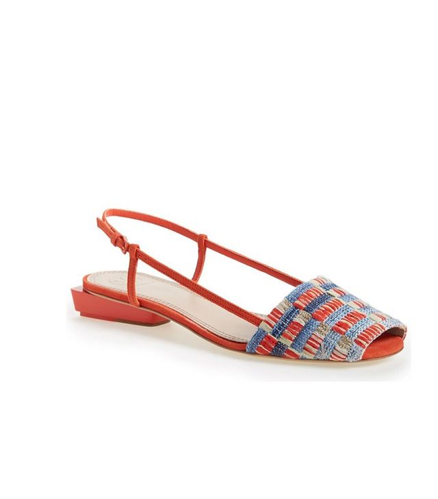 Tory  Burch Pietra Peep Toe Sandals