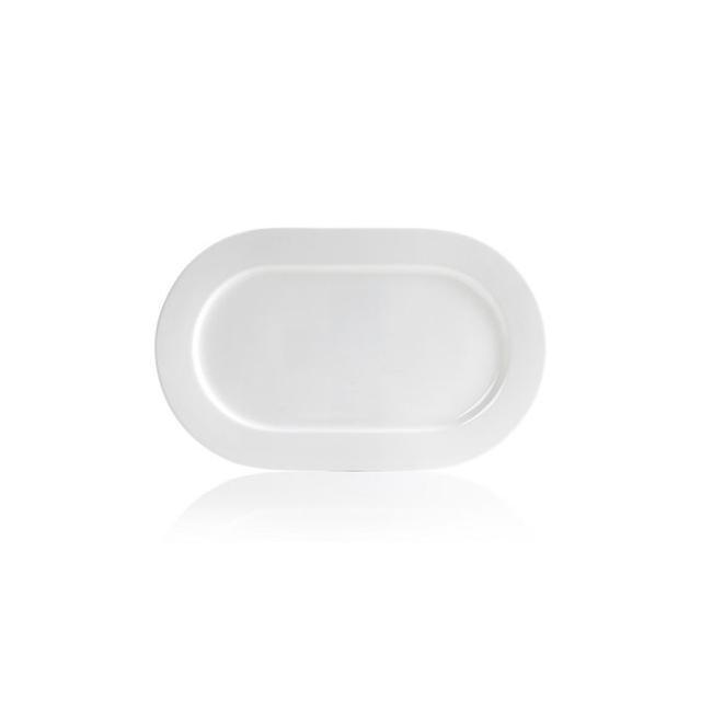 "Hotel Collection Serveware 18"" Bone China Oval Platter"