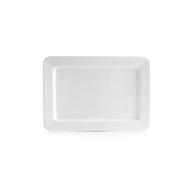 "Hotel Collection Serveware 15"" Bone China Rectangular Platter"
