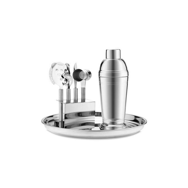 Martha Stewart Collection Barware, Stainless 7-Piece Bar Tool Kit