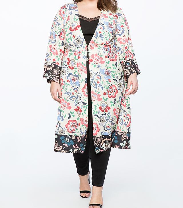 Eloquii Long Kimono Jacket